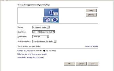 Uso del HORM system y la configuración de la pantalla overview