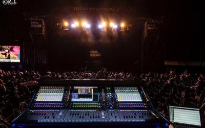 BTM Sound estrenó la consola DiGiCo Quantum 338 en el Festival Porta Ferrada